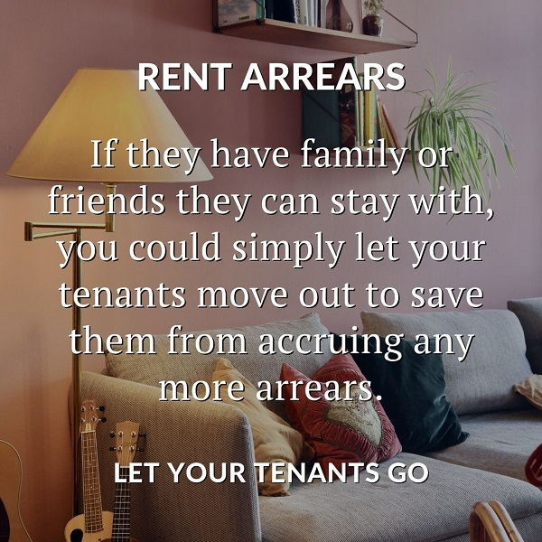 let your tenant go